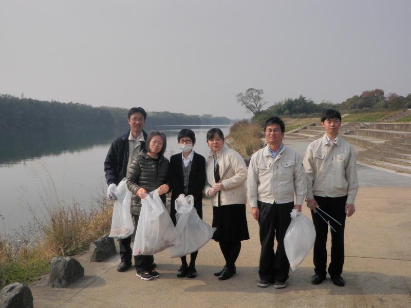 八代海河川浜辺の大掃除大会